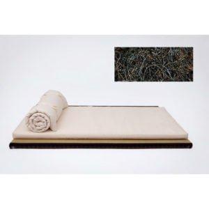 Tagel bäddmadrass i valfri storlek från Tyska futonwerk (100% ekologisk)