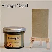 Äppellåda vintage vax, gör det själv kit liten