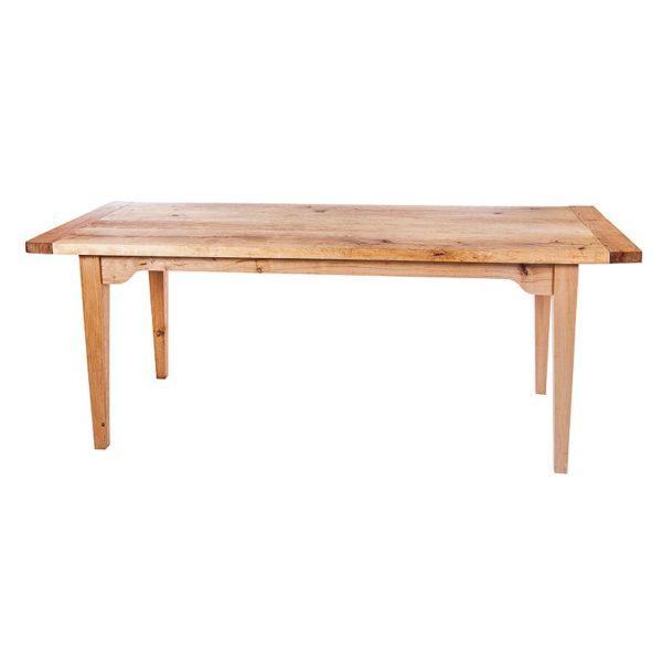 Matbord i al och björk Outlet